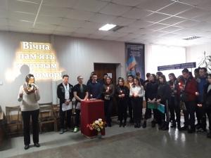 """""""Хвилина пам'яті"""" до Дня пам'яті жертв Голодомору 1932-1933 років"""